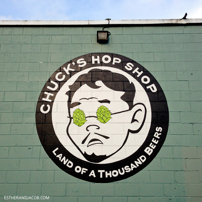 chuck's hop shop seattle washington. land of a thousand beers seattle. craft beer in seattle. what to do in seattle. seattle things to do. fun things to do in seattle. best things to do in seattle.