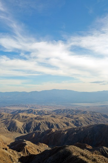 Keys View Joshua Tree National Park CA - a high elevation lookout point on the crest of the Little San Bernardino Mountains that you can drive up to // localadventurer.com