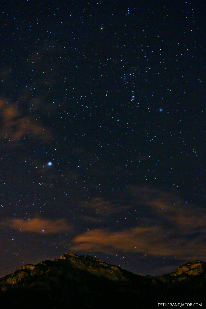 Star Party on Mount Potosi Las Vegas + Jupiter and the Orion Nebula + Tips for Your Visit // localadventurer.com