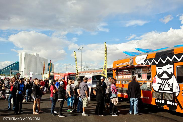 Sushi Burrito Food Truck | Las Vegas Foodie Fest 2014 | Food Festivals Las Vegas.