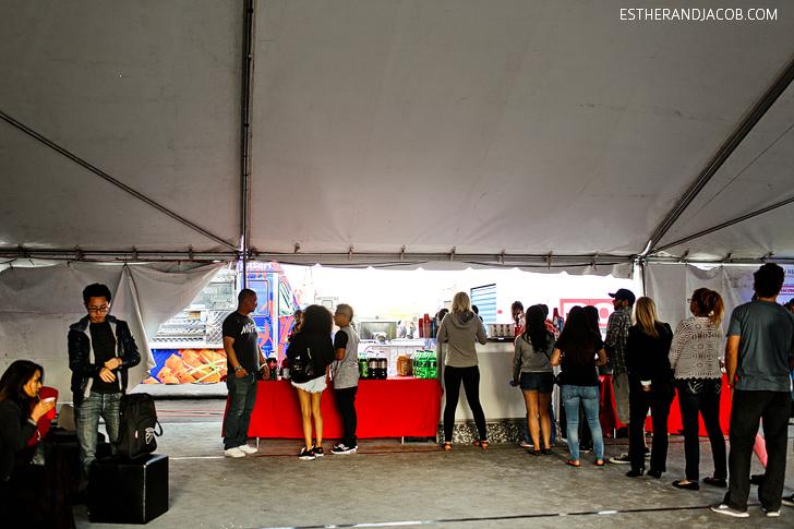 Las Vegas Foodie Fest VIP Section with Open Bar | Festivals in Las Vegas.