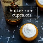 Butter Rum Cupcakes Recipe