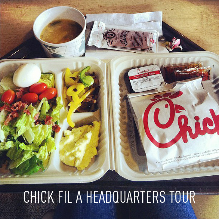 Local Adventures at the Chick fil a Headquarters Atlanta.
