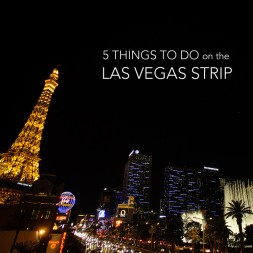 5 Local Adventures on the Las Vegas Strip + Link Up #11
