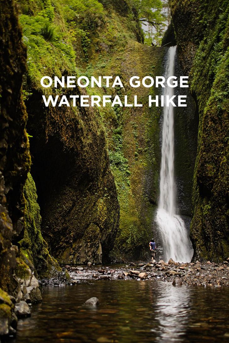 Oneonta Gorge Hike to Lower Oneonta Falls // localadventurer.com