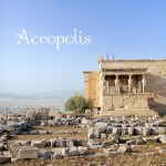 Map + Photo Guide of The Acropolis of Athens