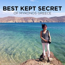 Best Kept Secret of Mykonos – Agios Sostis Mykonos Beach