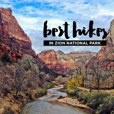 15 Best Hikes in Zion National Park // localadventurer.com