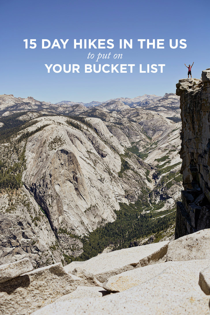 15 Best Day Hikes in the US to Put on Your Bucket List // localadventurer.com