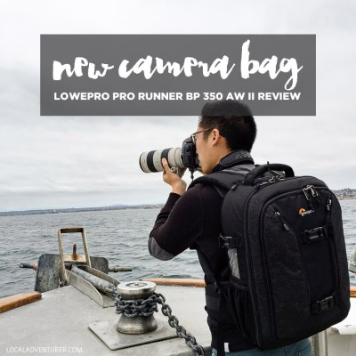 New Camera Bag: LowePro Pro Runner BP 350 AW II Review.