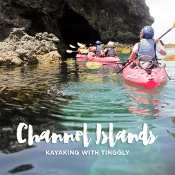 Kayaking Channel Islands National Park with Tinggly