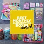 Fave Monthly Subscription Boxes – August 2015