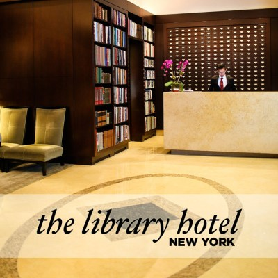 The Library Hotel NYC - A Book Lover's Dream.