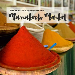 The Beautiful Colors of the Marrakech Market Part II