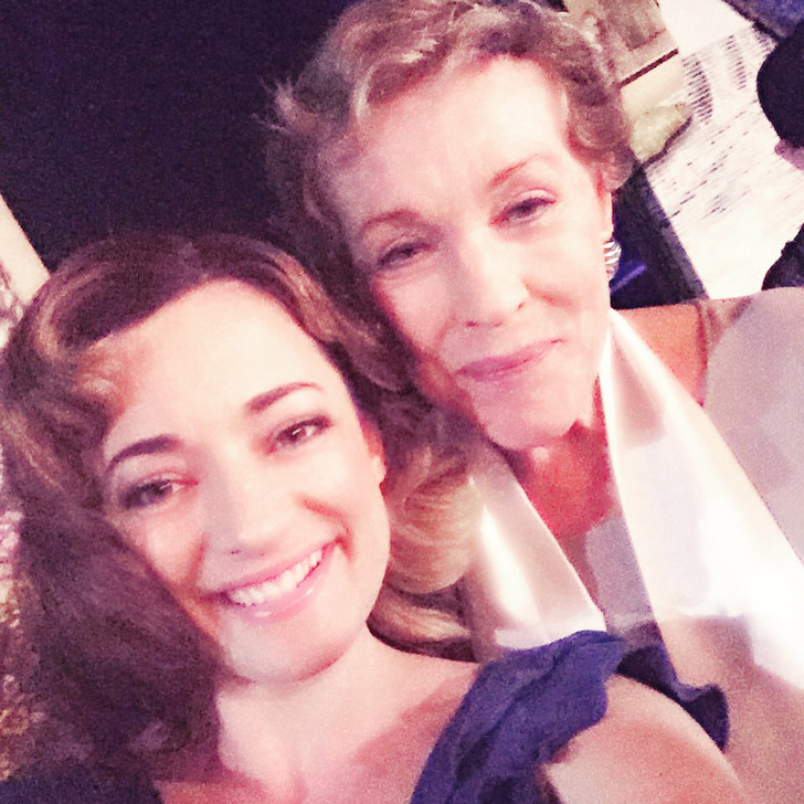 Julie Andrews at Finding Neverland the Musical.