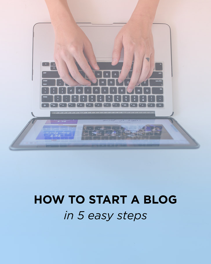 How to Start a Blog in 5 Easy Steps.
