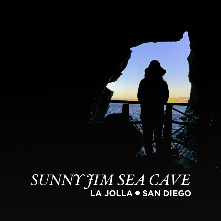 San Diego Hidden Attractions: The Sunny Jim Sea Cave La Jolla