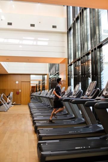 Fitness Room at the Conrad Hilton Seoul // localadventurer.com