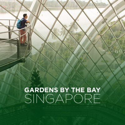 Visiting the Gardens by the Bay Singapore.