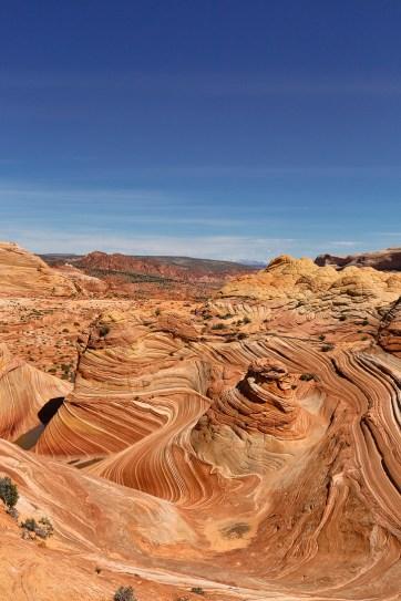 The Wave Rock Formation in Vermilion Cliffs National Monument Arizona // localadventurer.com