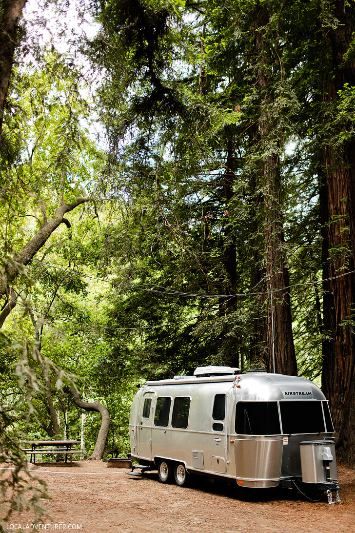 Fernwood Resort Big Sur Glamping - Camping in the Redwoods near the Big Sur River // localadventurer.com