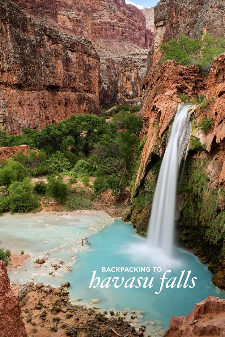 Backpacking to Havasu Falls, Havasupai Indian Reservation, Supai Arizona // localadventurer.com