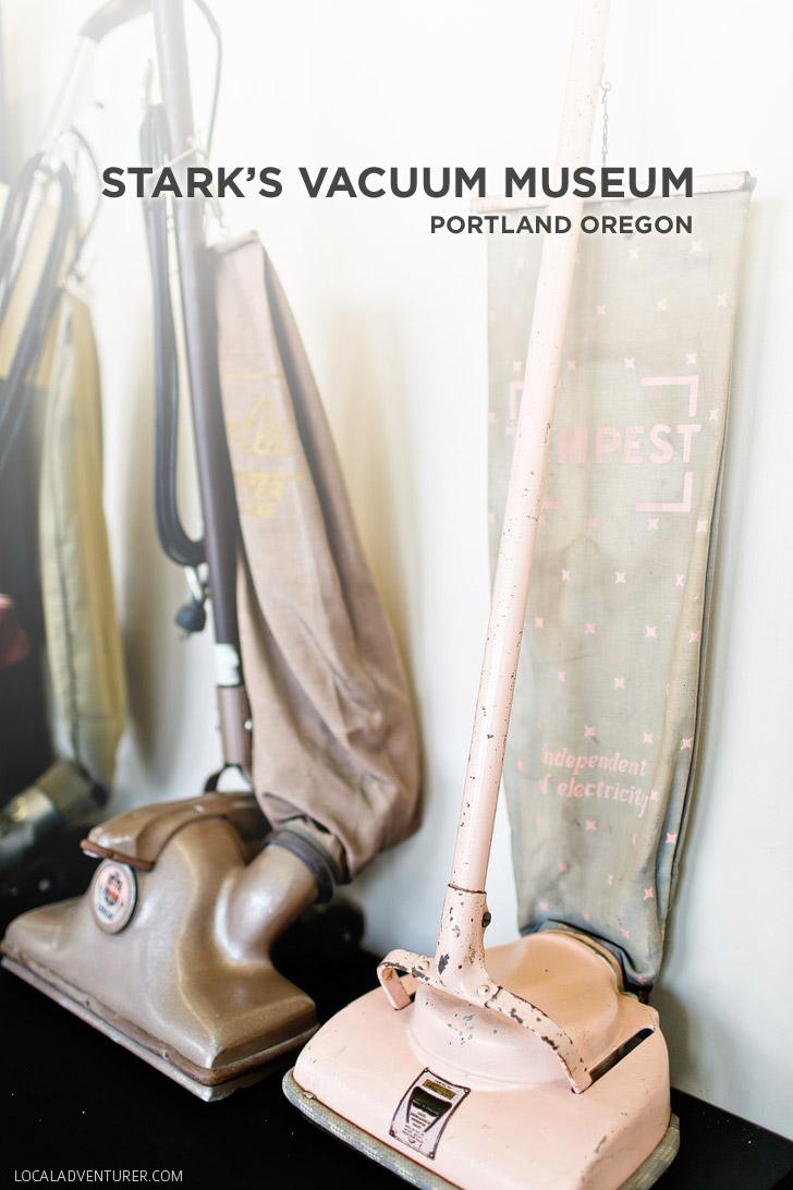 Stark's Vacuum Museum - Free Things to Do in Portland Oregon // localadventurer.com