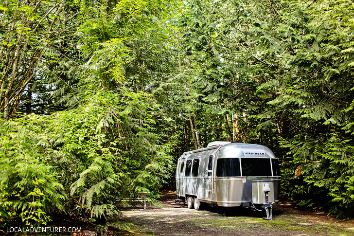 Glamping in Washington - Tall Chief RV and Camping Resort near Seattle // localadventurer.com