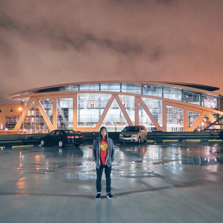 Atlanta Sign Philips Arena (+ Most Popular Instagram Spots in Atlanta) // localadventurer.com