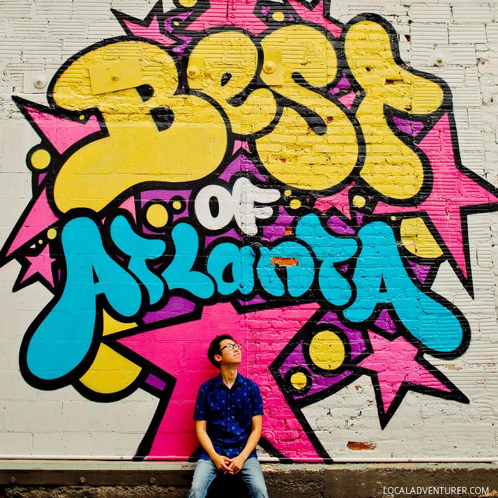 Best of Atlanta Wall (+ Best Murals on the Atlanta Beltline) // localadventurer.com
