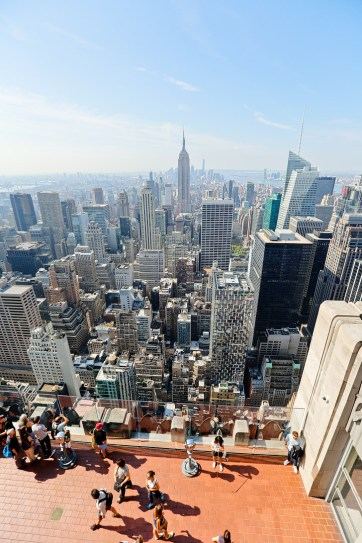Amazing NYC Views from the Top of the Rock Observation Deck // localadventurer.com