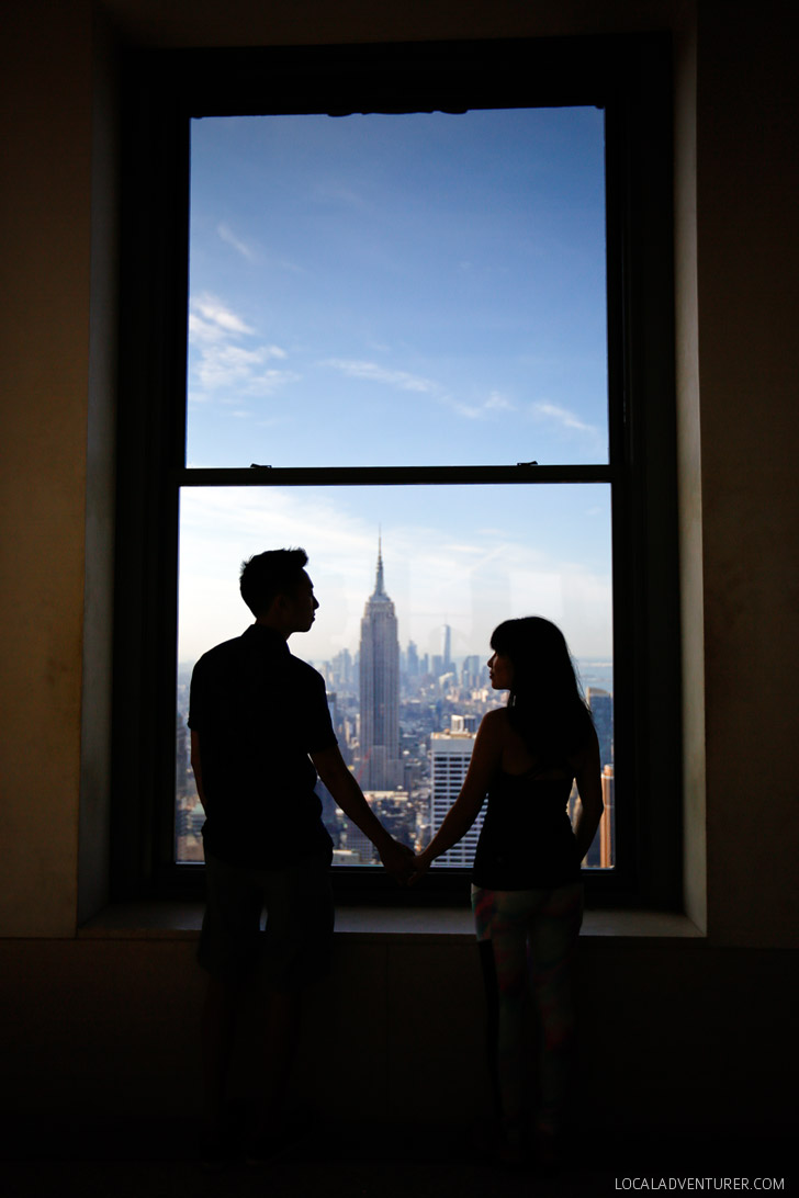 The Top of the Rock NYC // localadventurer.com