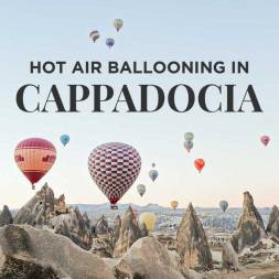 Riding Cappadocia Hot Air Balloons in Turkey