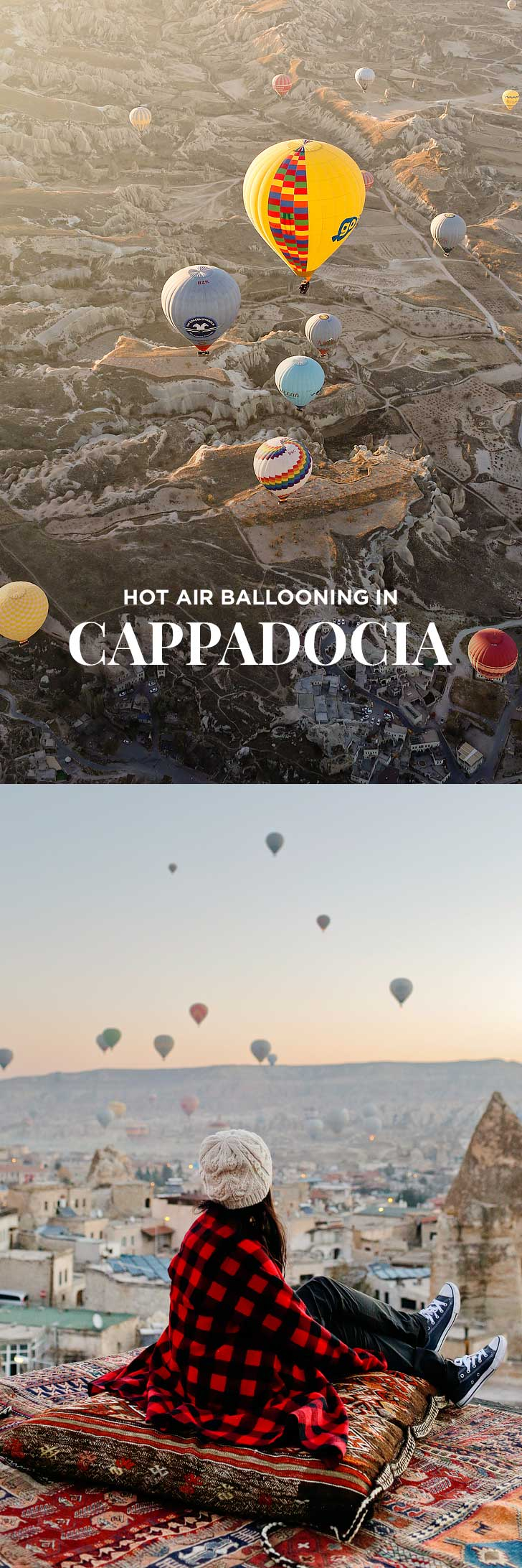 Riding Cappadocia Hot Air Balloons was a magical experience and a must if you're visiting Turkey! // localadventurer.com