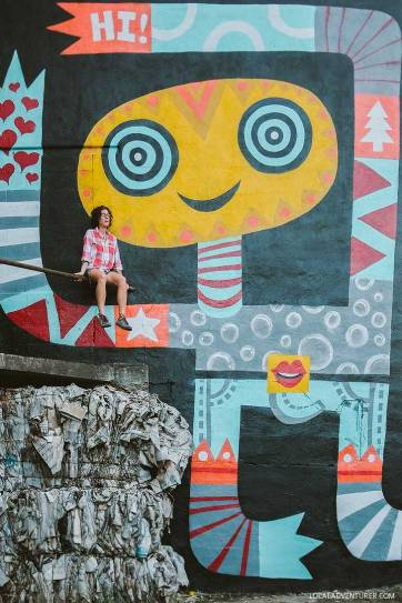 Peter Parpan Asheville Murals (Guide to the Best Murals in Town) // localadventurer.com