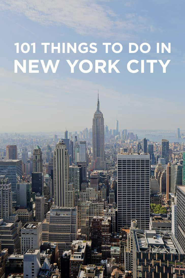 Ultimate new york city bucket list 101 things to do in nyc for Things to do in new yok