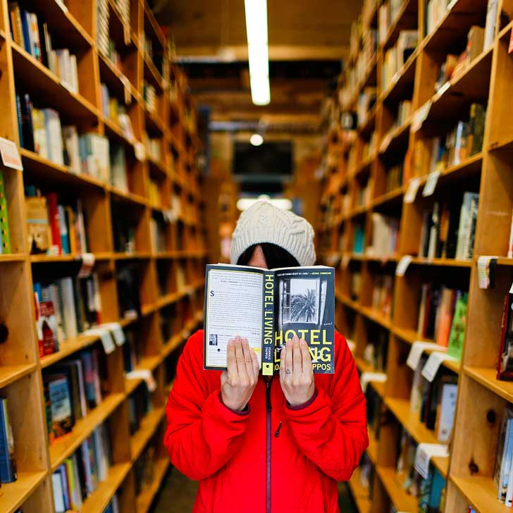 Powell's City of Books (25 Best Places to Take Pictures in Portland Oregon) // localadventurer.com