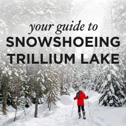 Everything You Need to Know About Snowshoeing Trillium Lake