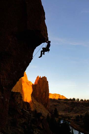 Chain Reaction Smith Rock Rock Climbing - Smith is one of the most popular climbing destinations in Oregon and the US. It has around 2000 climbing routes, but also plenty of activities even if you don't climb // localadventurer.com