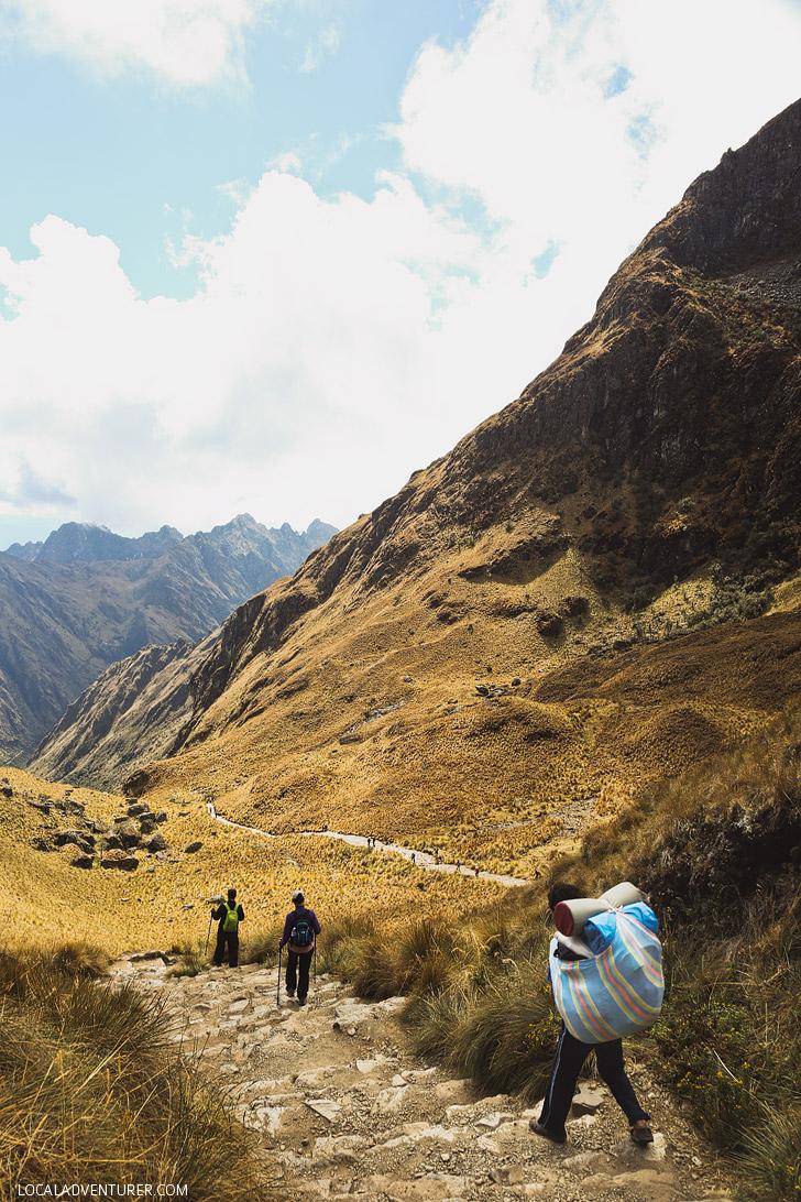 Inca Trail Elevation // localadventurer.com