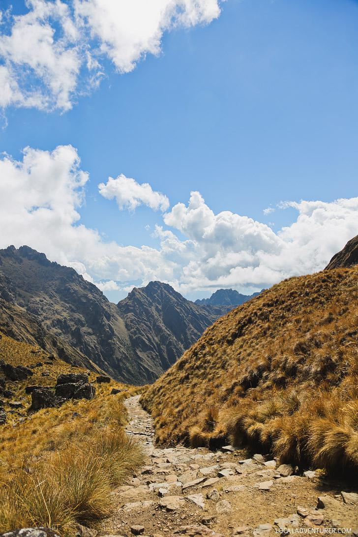 Dead Womans Pass - Inca Trail Highest Point // localadventurer.com
