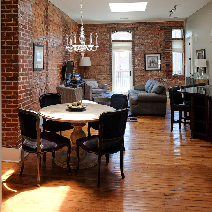 The Lofts at 16 Church + Best Places to Stay in Asheville NC // localadventurer.com