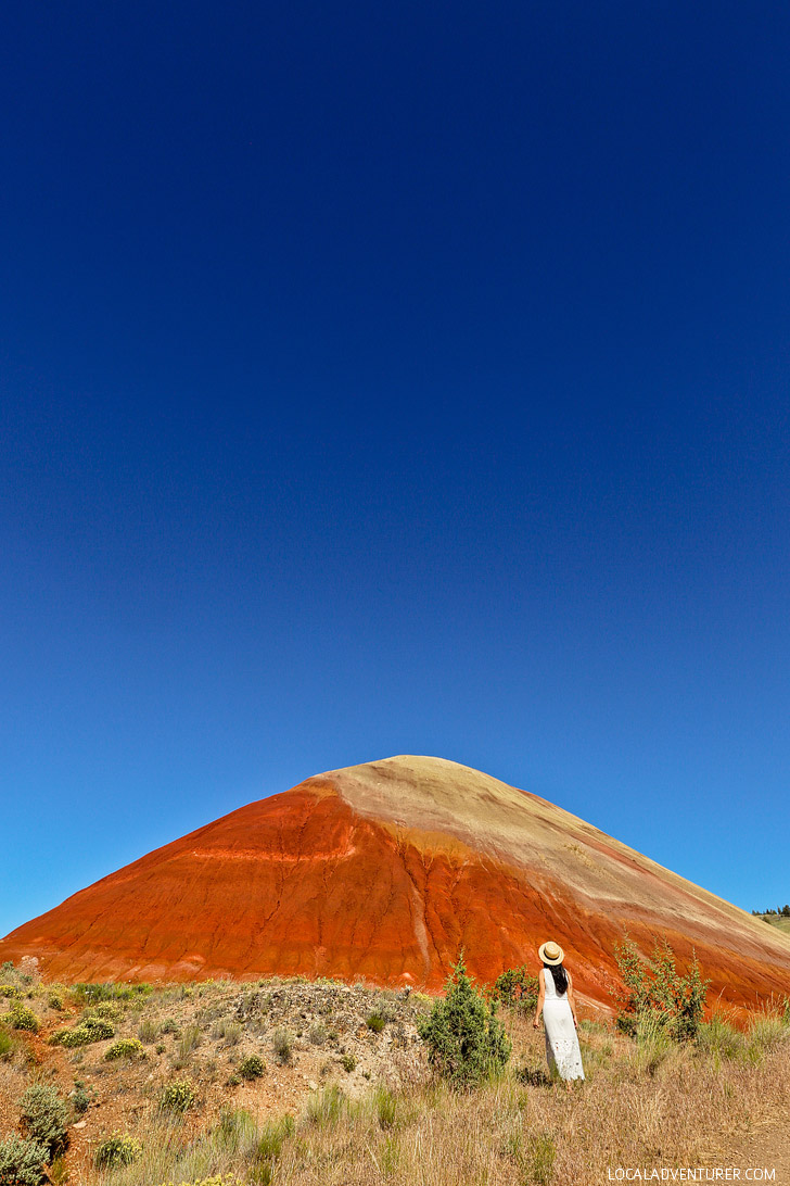 Red Scar Knoll Trail, Painted Hills Unit, John Day Fossil Beds National Monument, Eastern Oregon // localadventurer.com