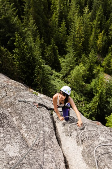 Squamish Via Ferrata - Best Things to Do in Squamish BC // localadventurer.com