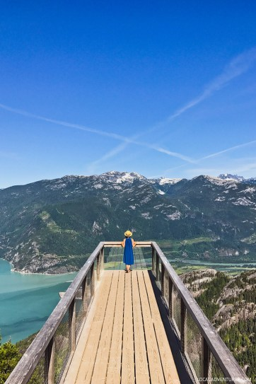 Summit Views from the Sea to Sky Gondola in Squamish BC // localadventurer.com