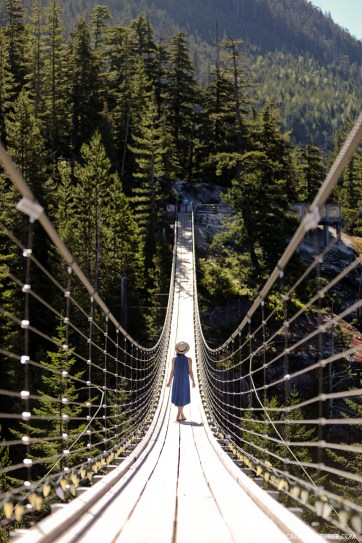 Squamish Suspension Bridge + Best Things to Do in Squamish BC // localadventurer.com