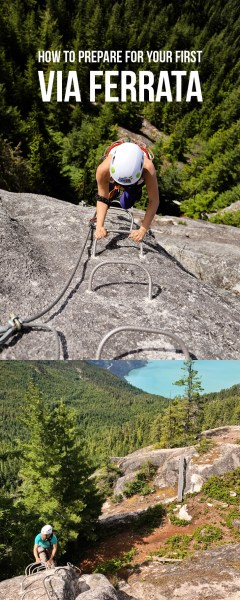 Via Ferrata Tips + a Great Introductory Via Ferrata in Squamish BC // localadventurer.com