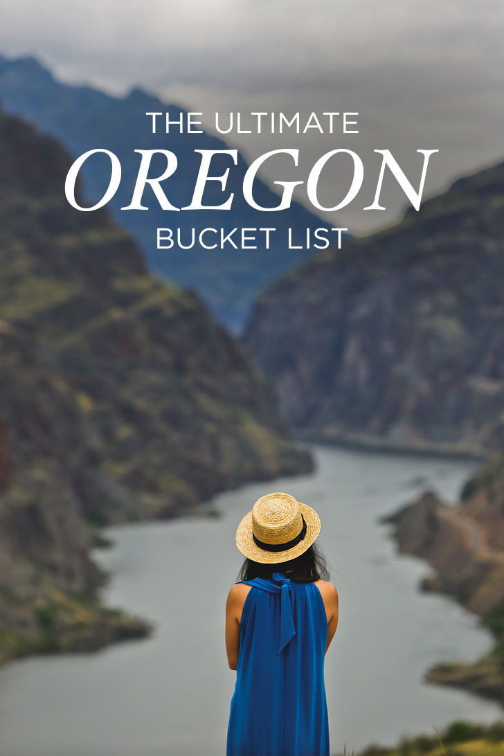 The Ultimate Oregon Bucket List in Regions - Greater Portland, the Gorge, Oregon Coast, Willamette Valley, Central Oregon, Eastern Oregon, and Southern Oregon // localadventurer.com