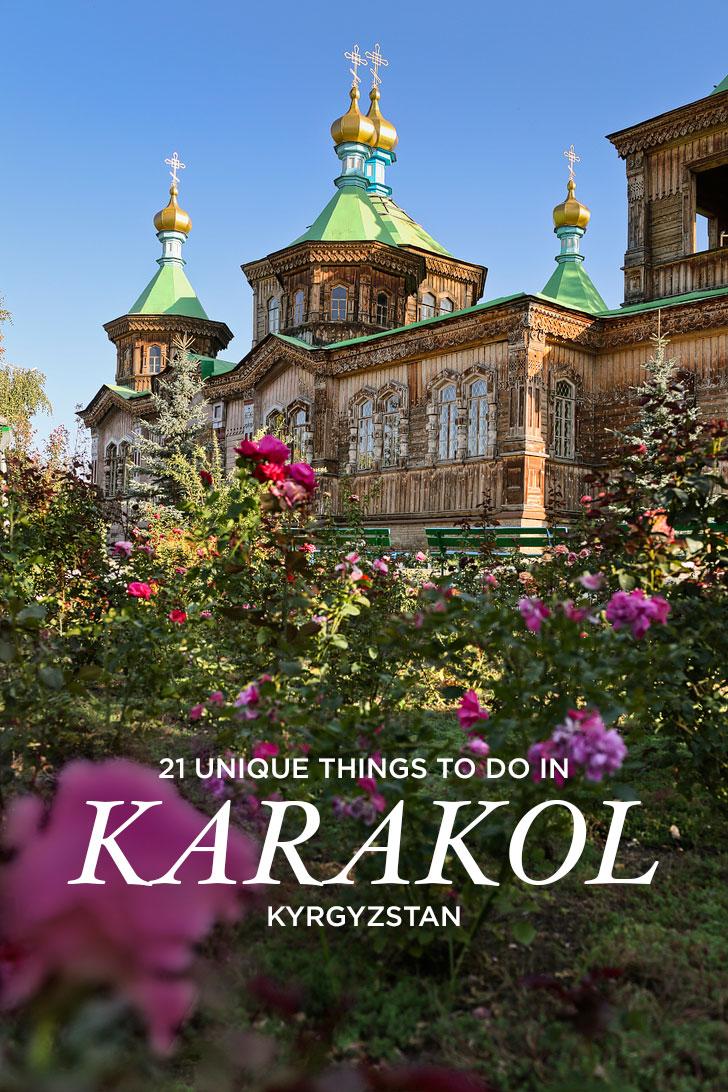 Your Essential Guide to Karakol Kyrgyzstan - 21 Best Things to Do in Karakol // localadventurer.com