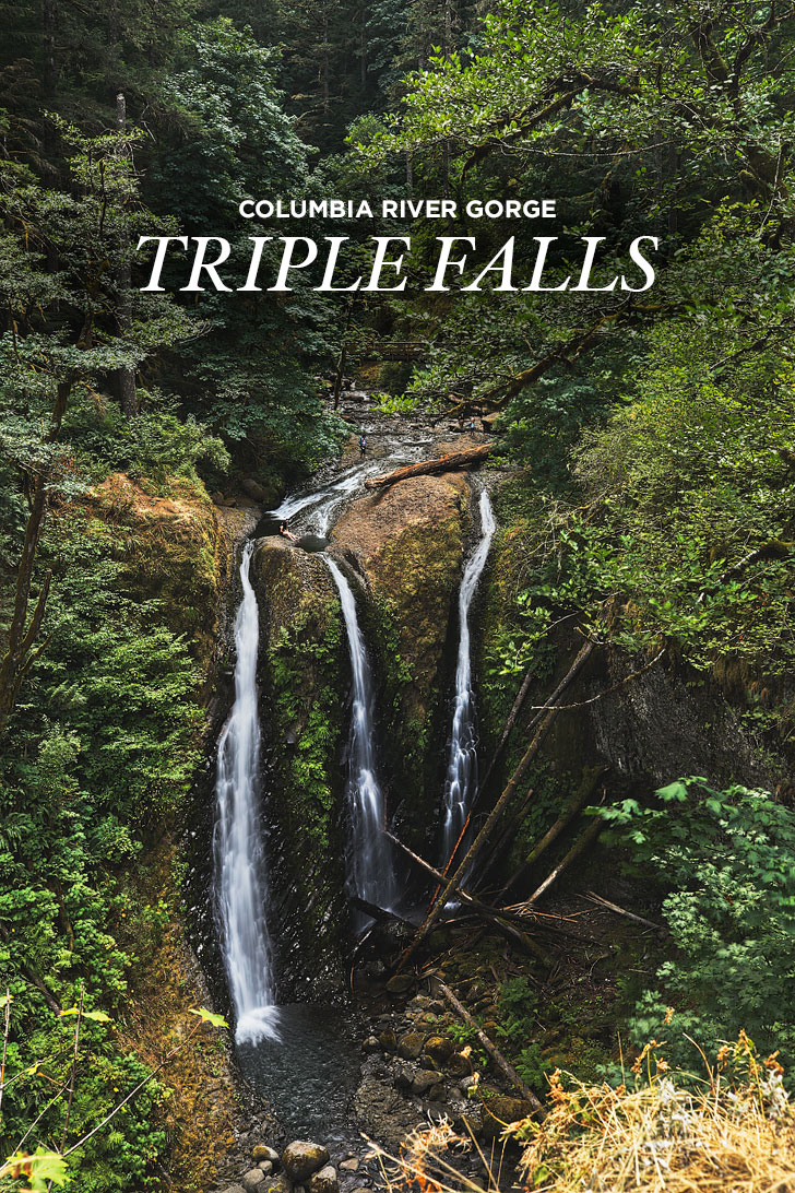 The Gorgeous Triple Falls Hike Oregon + Essential Tips for Hiking in the Columbia River Gorge // localadventurer.com
